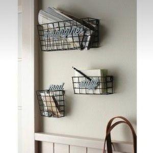 Metal Wall Baskets